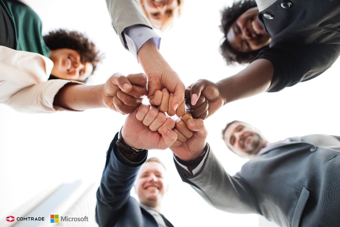Naveza, ki obeta: Comtrade in Microsoft
